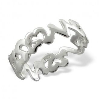 "Stříbrný prsten ""Aneta"". Ag 925/1000"